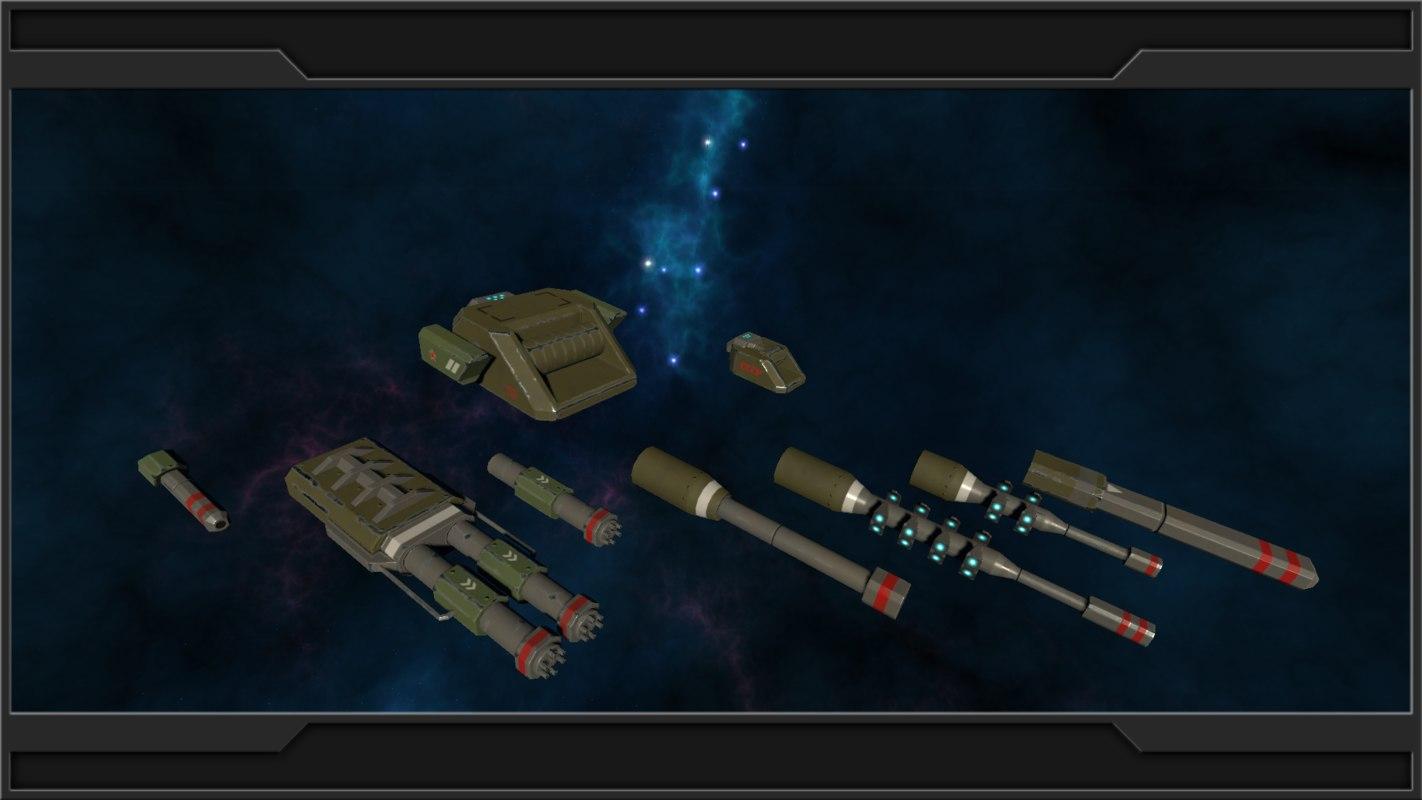 3d pack hd modular turrets