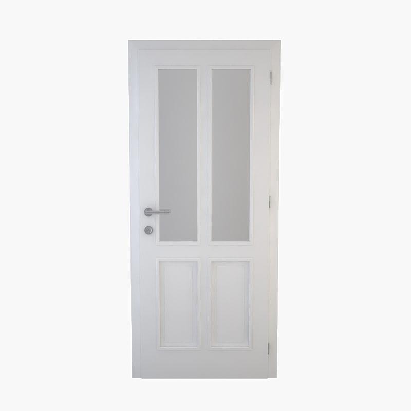 door doorframe frame 3ds
