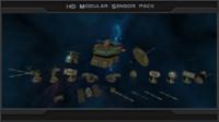 pack hd modular sensor 3d max