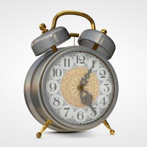old alarm clock 3d model