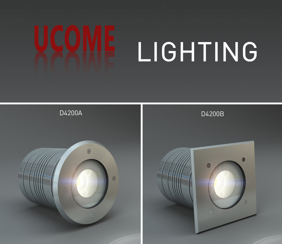 ground lighting ucome 3d model