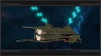 3d baikal class frigate ural