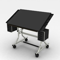 3d drafting table modern
