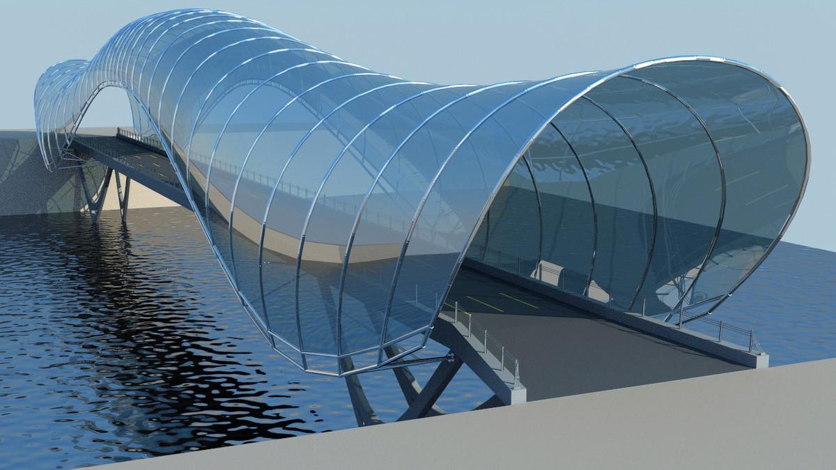 future bridge 3d model