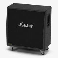 Guitar Speaker Cabinet Marshall 3D Model