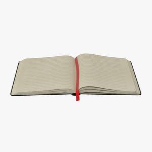 3d open journal model