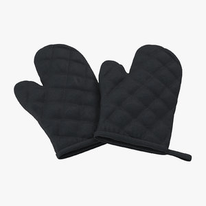 3d quilted oven mitts