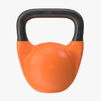 3d model kettlebell bell