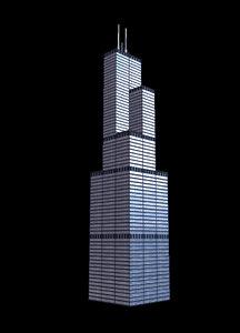 willis tower fbx