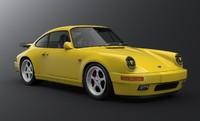 3d model porsche 911 964 turbo