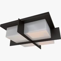 3d model of ceiling lamp