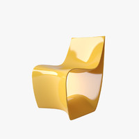 sign chair mdf 3d max