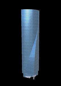 torre espacio 3d model
