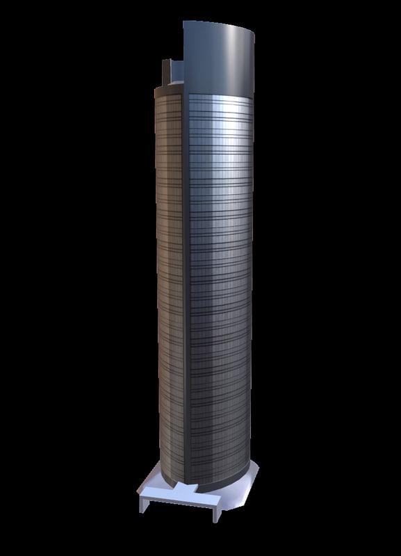 3d torre sacyr vallehermoso