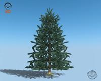 3d tree christmas