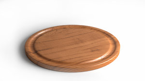3d model chopping board