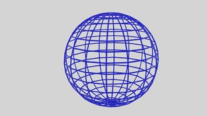 wireframe sphere 3ds