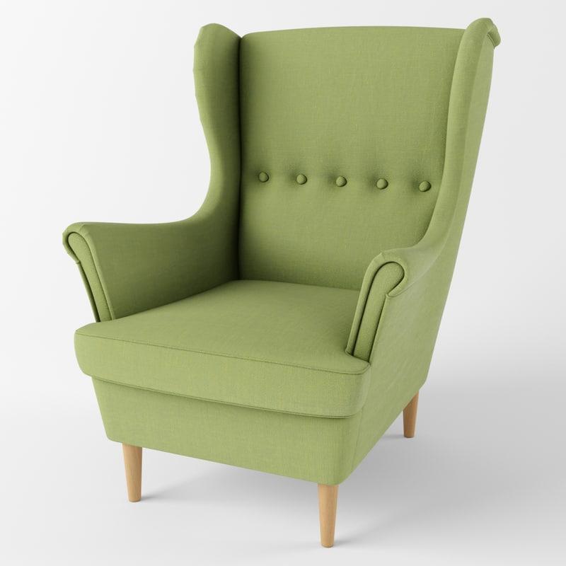 Strandmon Chair Ikea Green Max