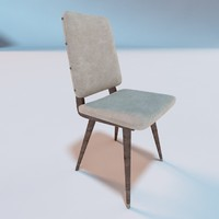 camillie dining chair 3d 3ds