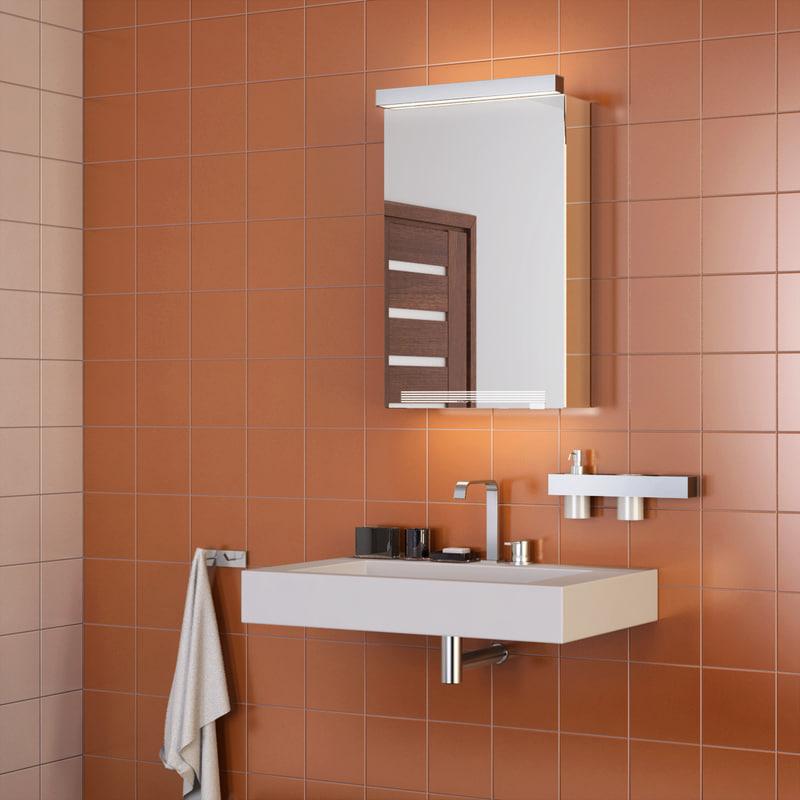3ds bathroom interior