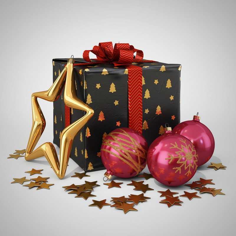 3d christmas decoration type1
