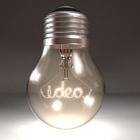 idea lights 3d model