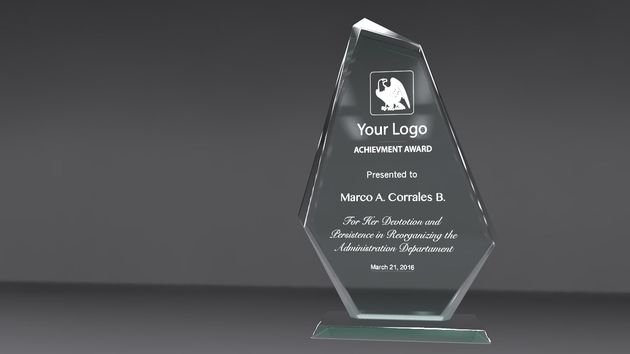 3d arrow award model