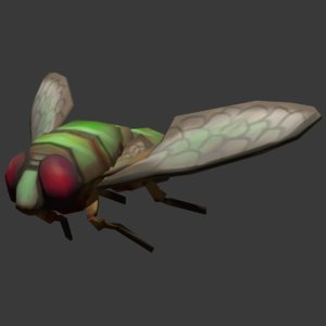 simple fly 3d 3ds