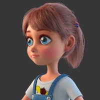 Cartoon_Girl_Rigged