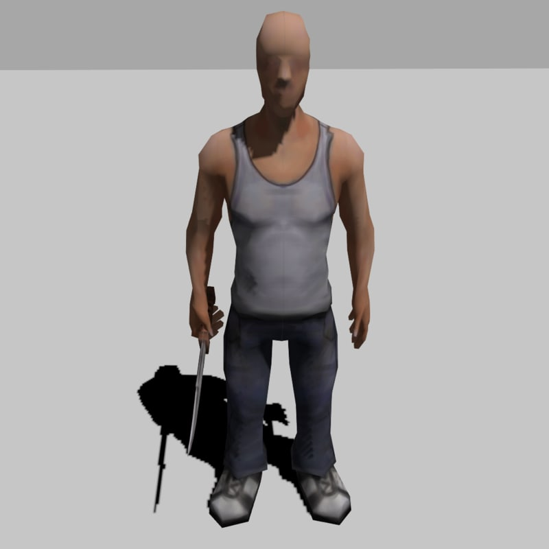 simple ready character 3ds