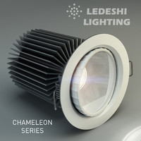 3d model ledeshi lighting led