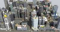 3ds city block x4 hdrt