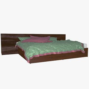 v-ray bed 3d model