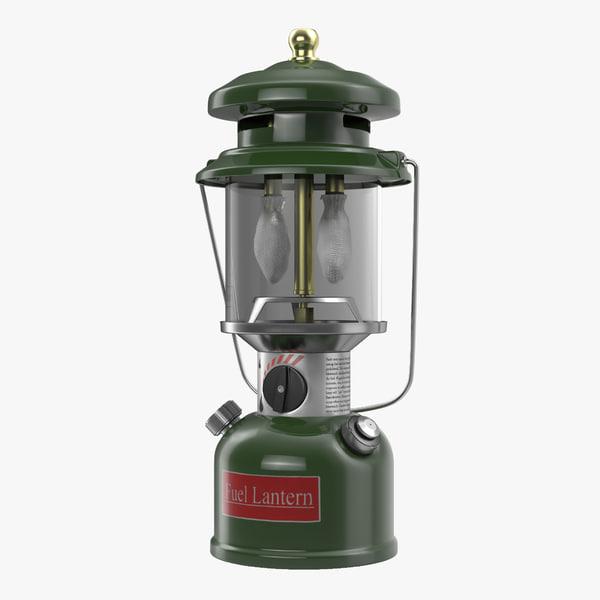 3d model fuel lantern