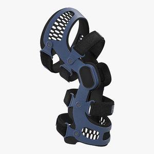 knee brace generic 3d c4d
