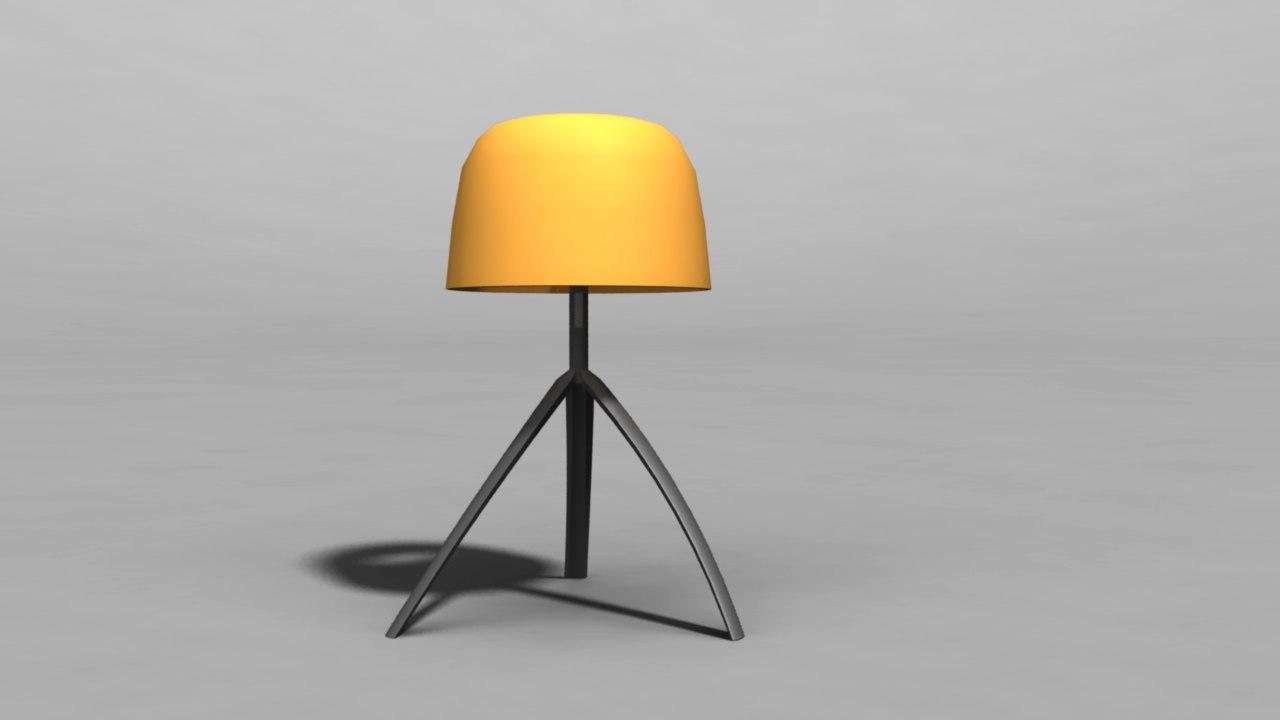 obj lamp
