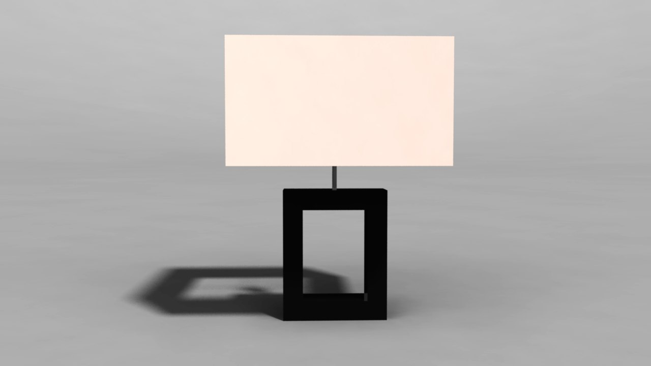 lamp 3d ma