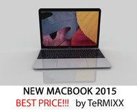 3d new macbook 2015 model