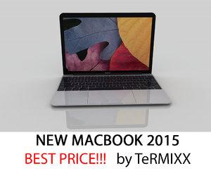 3d new macbook 2015 model