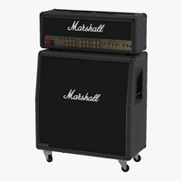 Guitar Amplifier Marshall 3D Model