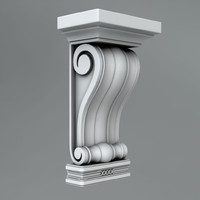 classical decoration ornamental 3d c4d