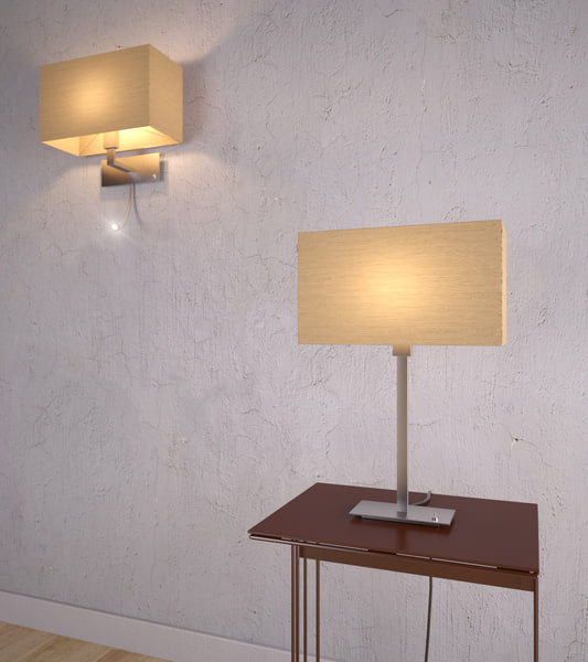 3d lamp table wall