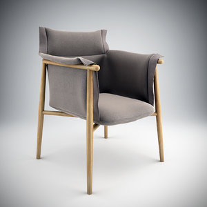 embrace chair eoos 3d model