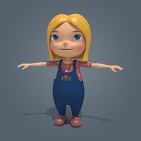 max little girl