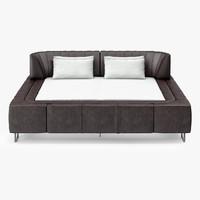 3d ds sede bed model