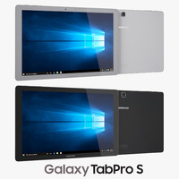 3d samsung galaxy tabpro s model