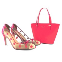 kate pade shoes bag max
