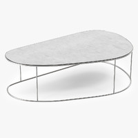 Ochre moon pebble medium coffe table