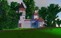 free church 3d model