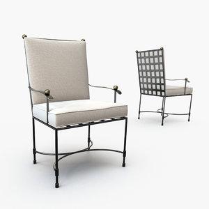 janus amalfi dining chair max